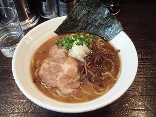 豚ソバ醤油