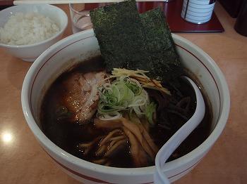 豚そば醤油 こく (700円)