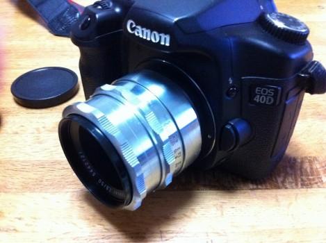 Carl Zeiss Tessar 50mm F2.8 (1st)シルバータイプ