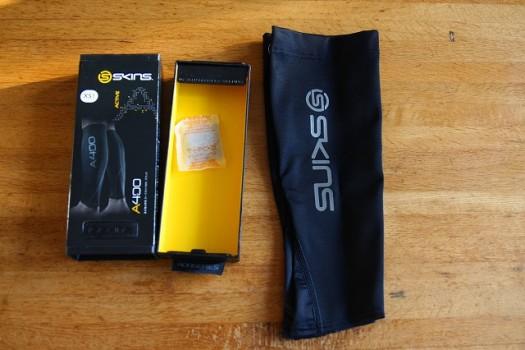 SKINS A400 ユニセックス カーフタイツMX ブラック